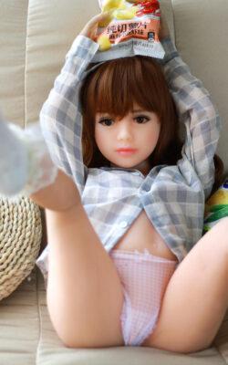 100cm Flat Chested Sex Doll – Misaki