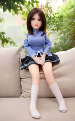 Mini Silicone Sex Doll – Akane