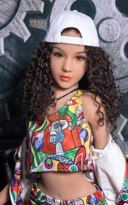 Curly Hair 140cm TPE Doll – Pepper