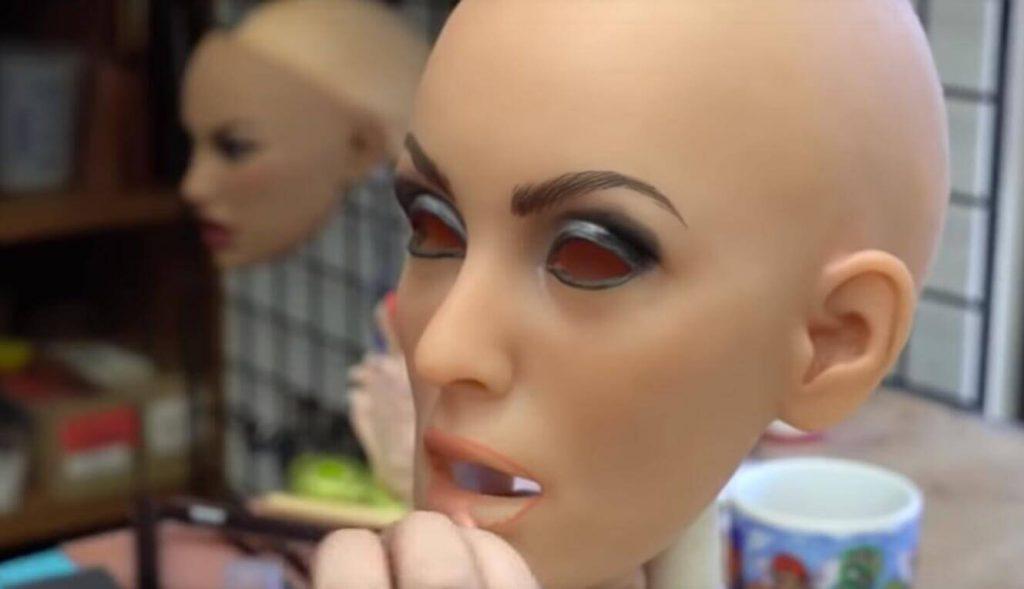 makeup sex doll face