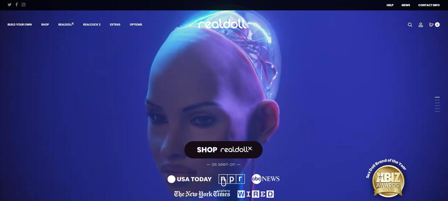 realDoll website