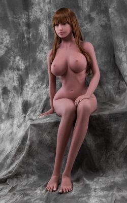148cm Life Size Ebony Sex Doll - Minnie